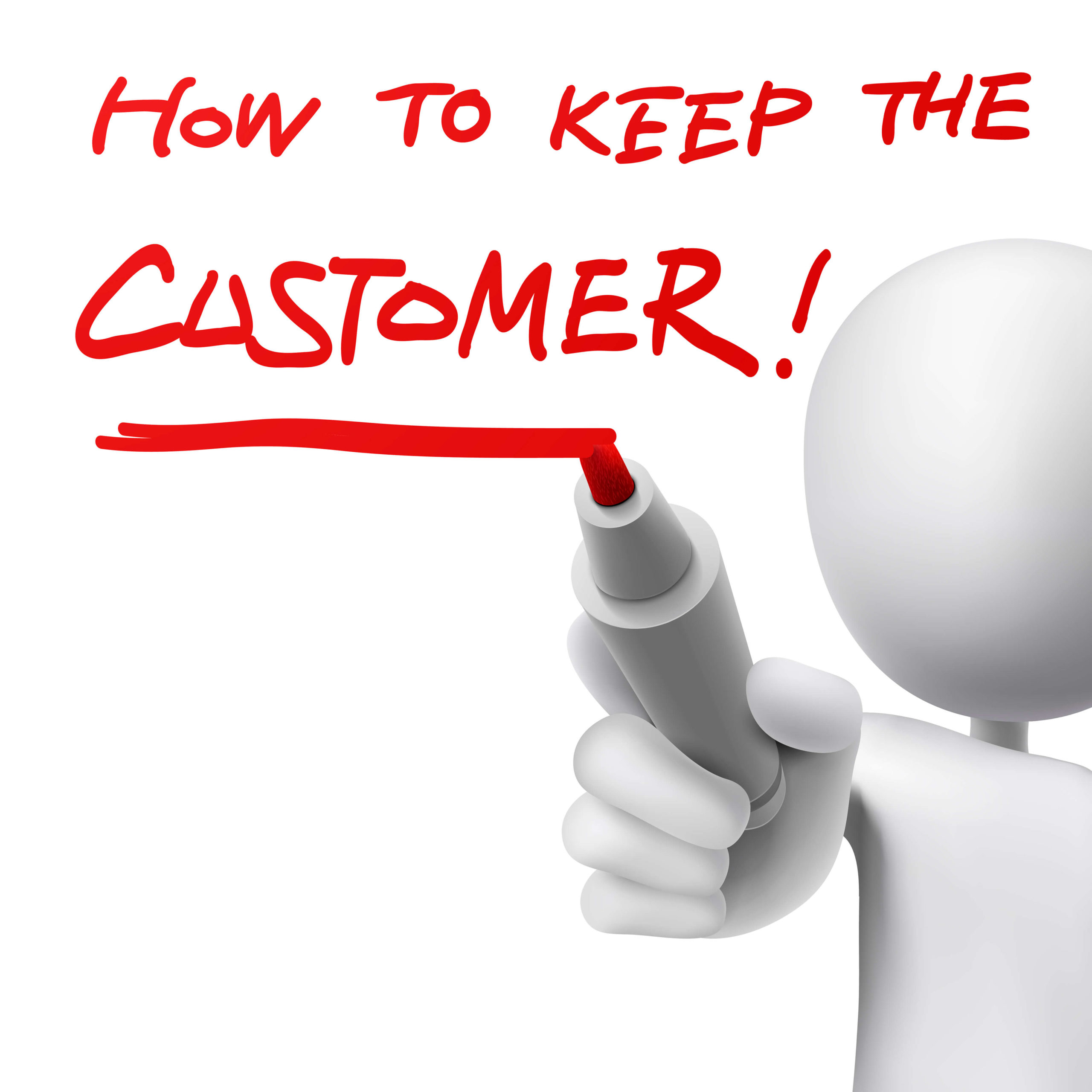 image showing how to keep a customer to enable better CPA targeting.